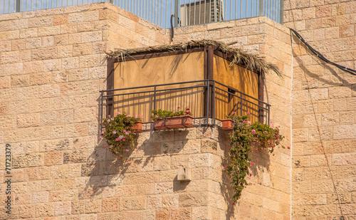 Jewish national religious holiday of Sukkot - 71723379