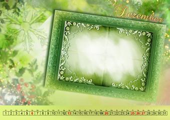 Monatskalender Kalender 2015 deutsch Querformat A3 DEZEMBER
