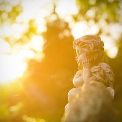 Engel im Sonnenschein