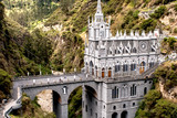 Las Lajas, church built on cliff in Colombia