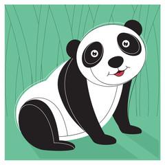 Panda Vector Illustration