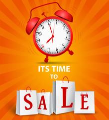 Sale time concept