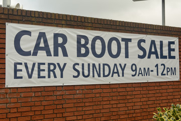 Car Boot Sale sign