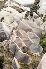 Love valley in Goreme national park. Cappadocia, Turkey