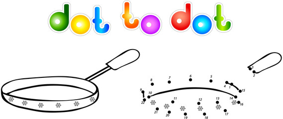 Fryer dot to dot coloring book