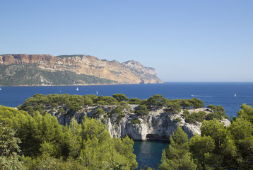 calanques of cassis, near marseille