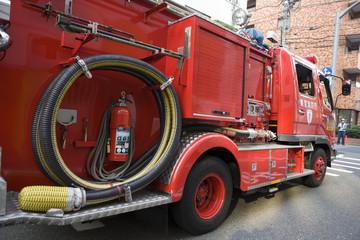 消防自動車 ポンプ車