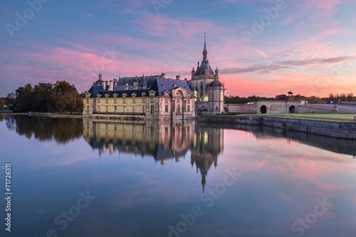 Papiers peints Chateau Château de Chantilly FRANCE
