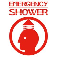 Аварийный душ.