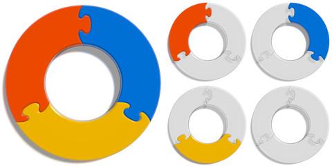 Circle Puzzle 03