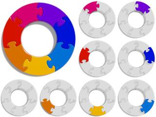Circle Puzzle 07