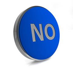 no circular icon on white background