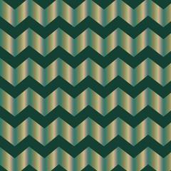 Shiny chevron pattern