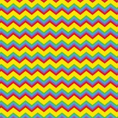 Bright chevron pattern
