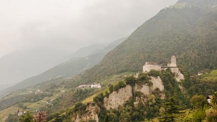 Südtirol, vinschgau, Schloss Tirol, Brunnenburg, Italien