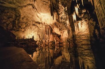Italy, Sardinia, Alghero, Capo Caccia caves