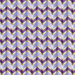 Shiny chevron ribbon
