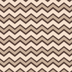 Tan and brown chevron pattern