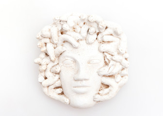 Head of Medusa sculpture