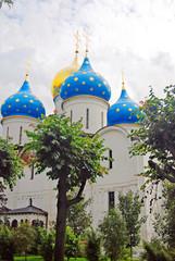 Dormition church in Trinity Sergius Lavra