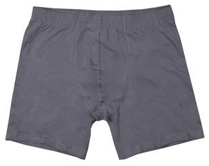 Male underwear isolated on white background