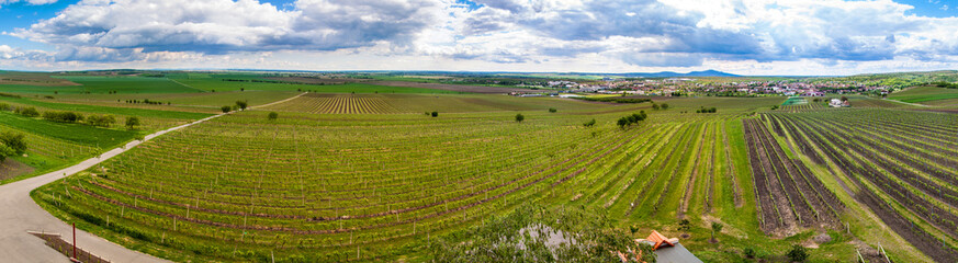 Countryside of southern Moravia