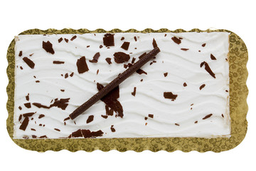 Cake rectangular shape