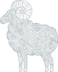 Ram (outline)