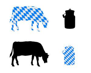 Bayerische Milchkuh