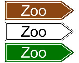 Wegweiser Zoo