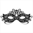 Beautiful Masquerade Mask (Vector), Patterned design - 71734529