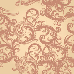 Vector seamless background with ornament