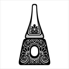 Vector Ornate Nail Polish