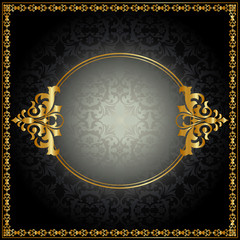 Royal pattern with frame