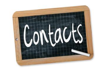 Contacts - Ardoise