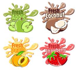Splash Fruits2