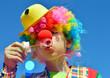 Leinwanddruck Bild - Clown