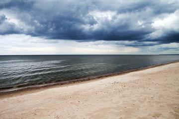 Dark baltic clouds.