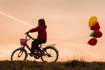 çocuk ve bisiklet kültürü