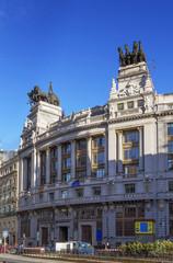 building of Banco Bilbao Vizcaya, Madrid
