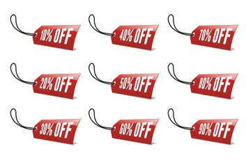list of price tag discount