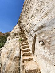 staircase leading up