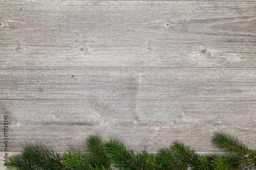 canvas print picture weihnachten graue platte für text