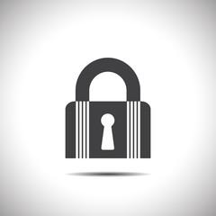 lock closet state vector icon