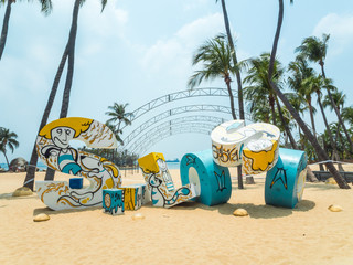 Siloso Beach Sentosa Singapore