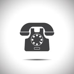 phone symbol vector icon