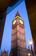 London - Big ben in evening