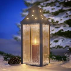 Christmas Lantern - Shot 2