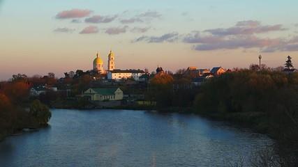Church near the river