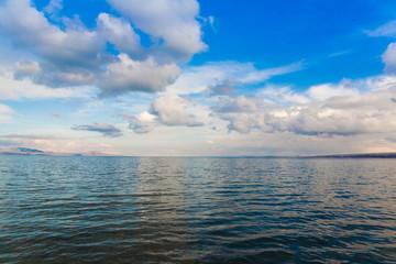 lake Sevan spring day